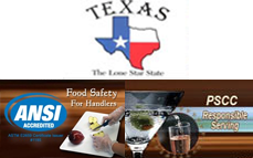 TX Responsible Serving + Food Handler Safety