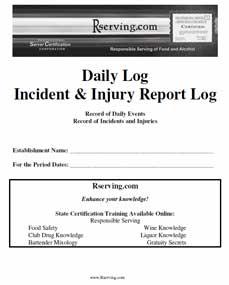 Incident Report Log
